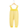Salopeta Waddler baby alpaca - Elwood Yellow/White-Waddler-HipHip.ro