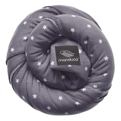 Wrap elastic Manduca LimitedEdition LittleStars Slate-Manduca-HipHip.ro