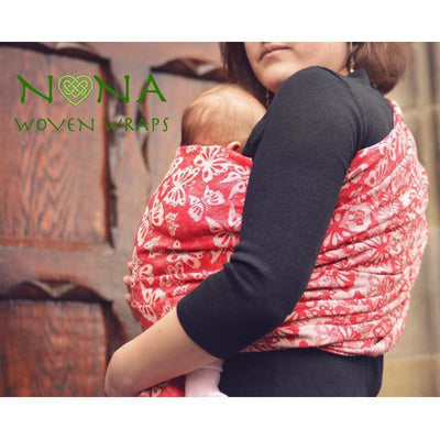 Wrap tesut Nona Serendipity It Was Only a Kiss-Nona Wraps-HipHip.ro