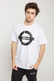 Supreme Spain – T-Shirt Metro Blanco/Negro