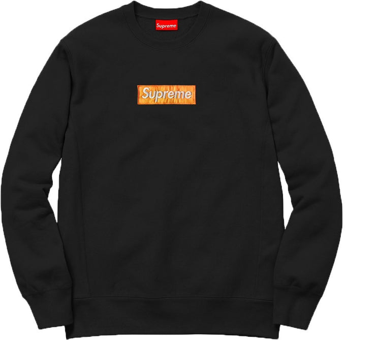 Supreme Spain – Sudadera Logo Bordado Naranja