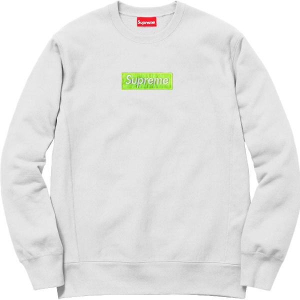 Supreme Spain – Sudadera Logo Verde Bordado