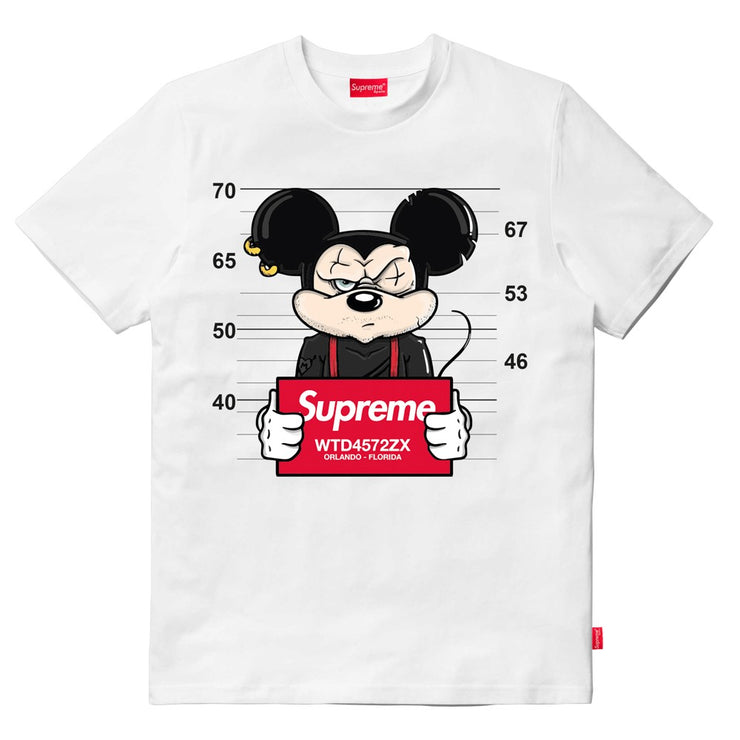 T-SHIRT SUPREME MOUSE WANTED