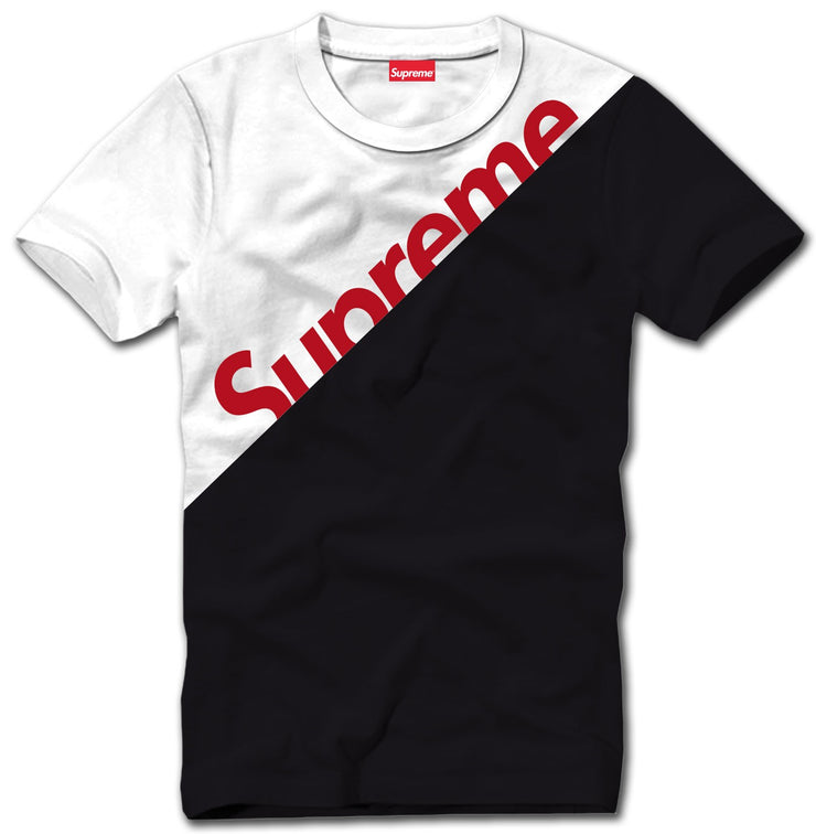 Supreme Spain - T-Shirt Bicolor