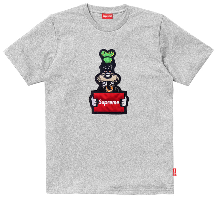 Supreme Spain – T-Shirt Logo Wanted Bordado