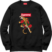 Supreme Spain – Sudadera Con Tigre Bordada