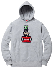 Supreme Spain – Sudadera Capucha Wanted Logo Bordado