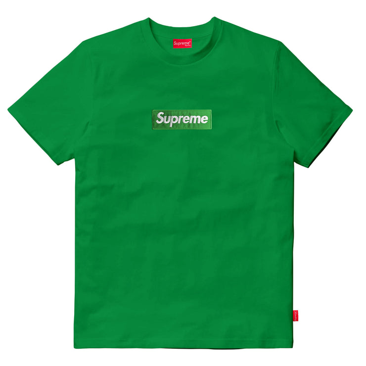 Supreme Spain - T-Shirt Boxlogo Bordado En Tinte