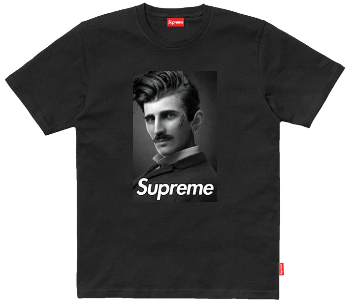 Supreme Spain – T-Shirt Tesla