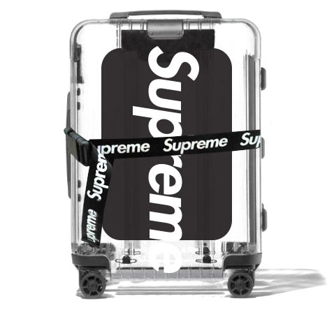 Supreme Spain - Trolley Transparente - COLECCIÓN SS19