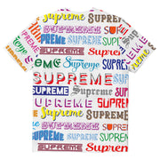 Supreme Spain - T-Shirt Estampada Allover- COLECCIÓN FALL/WINTER '19/'20