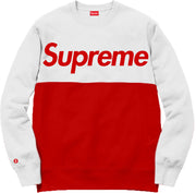 Supreme Spain - Sudadera Bicolor Estampada - COLECCIÓN FALL/WINTER '19/'20