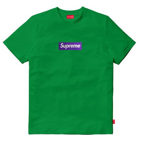 Supreme Kids – T-Shirt Boxlogo Bordado Multicolor