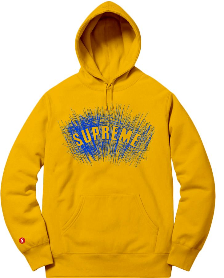 Supreme Spain - Sudadera Capucha Logo Bordado - COLECCIÓN FALL/WINTER '19/'20