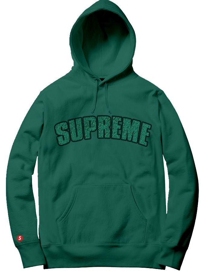 Supreme Spain - Sudadera Capucha Bordada - COLECCIÓN FALL/WINTER '19/'20