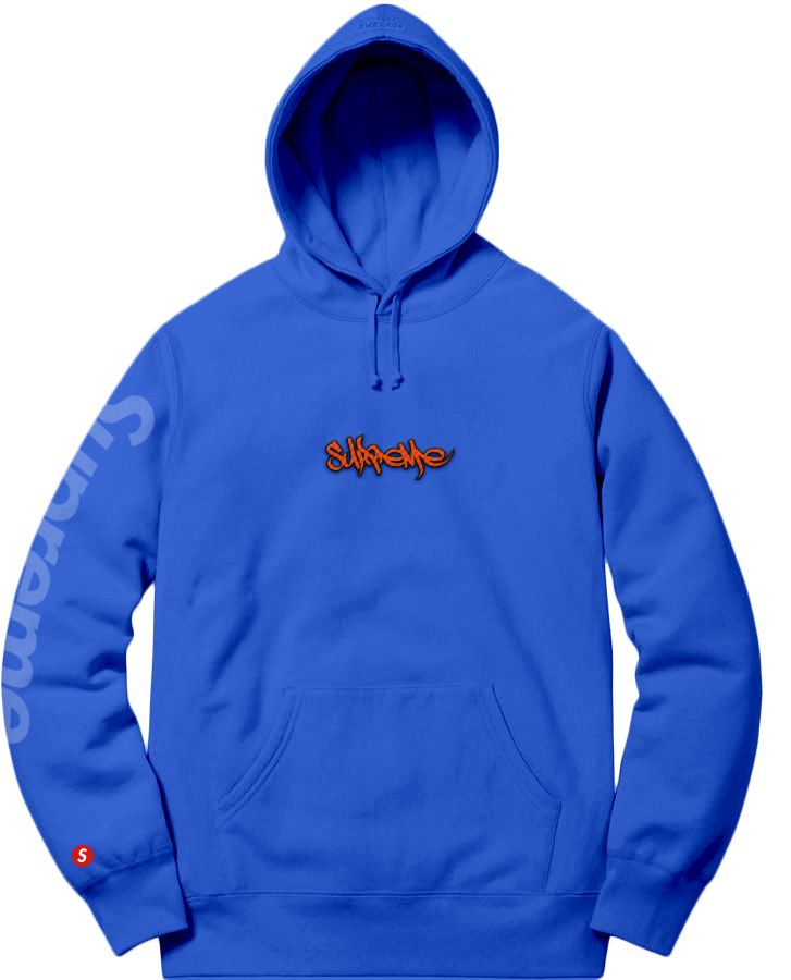Supreme Spain - Sudadera Capucha Bordada + Estampada - COLECCIÓN FALL/WINTER '19/'20