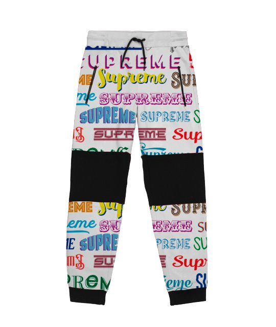 Supreme Spain - Pantalones Con Estampa Allover - FALL/WINTER COLECCIÓN '19/'20