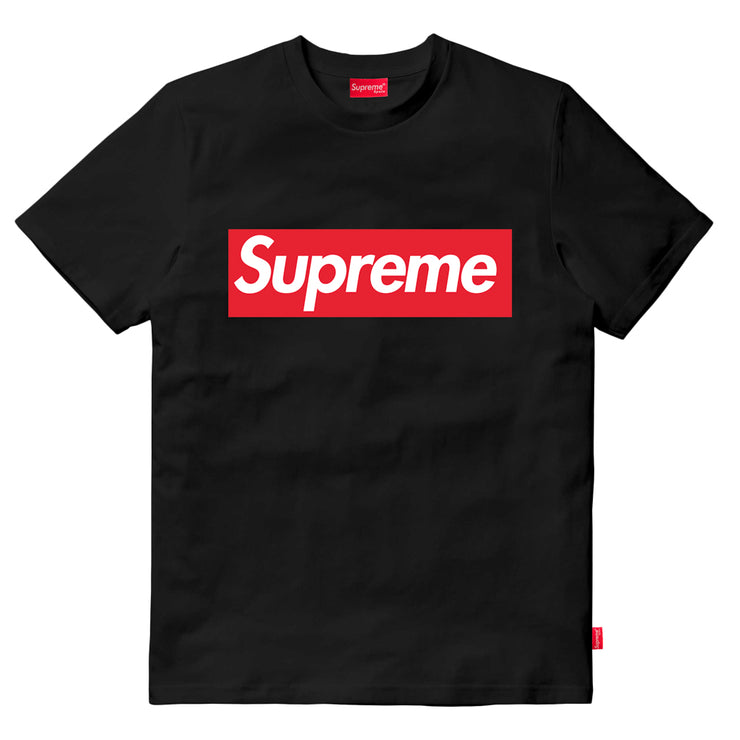 Supreme Kids – T-Shirt Logo Rojo Estampado