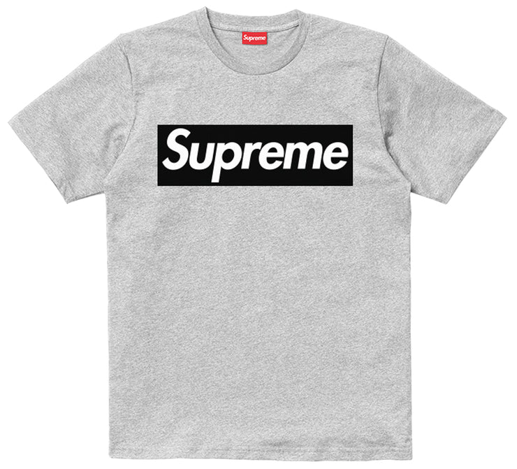 Supreme Spain - T-Shirt Boxlogo Negro