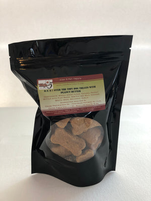 OT's (Over-the-Top) Peanut Butter Dog Treats