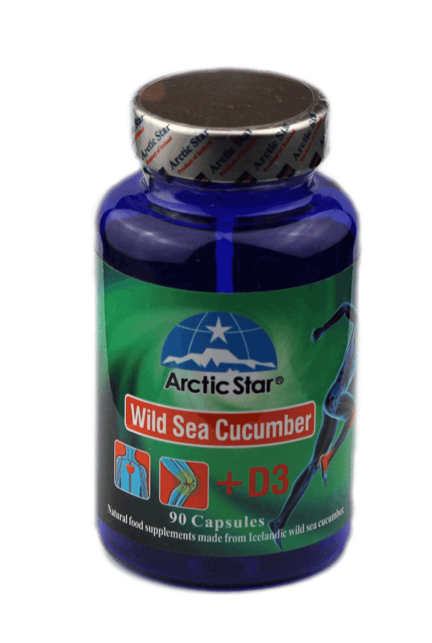 Arctic Star Wild Sea Cucumber + D3
