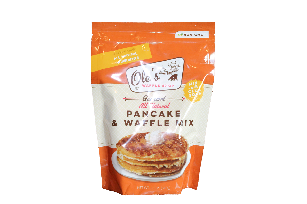 Ole's Fluffy Pancake & Waffle Mix - Ole's Original Breakfast Mixes