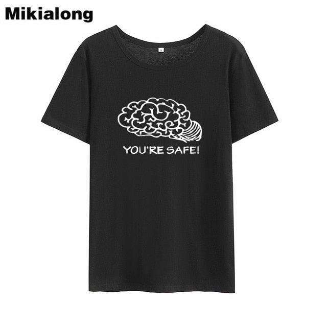 You're Safe Graphic Tshirt