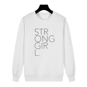 STRONG GIRL sweater