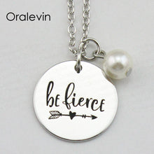 Load image into Gallery viewer, BE FIERCE Necklace