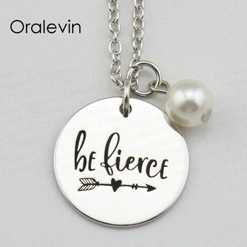 BE FIERCE Necklace