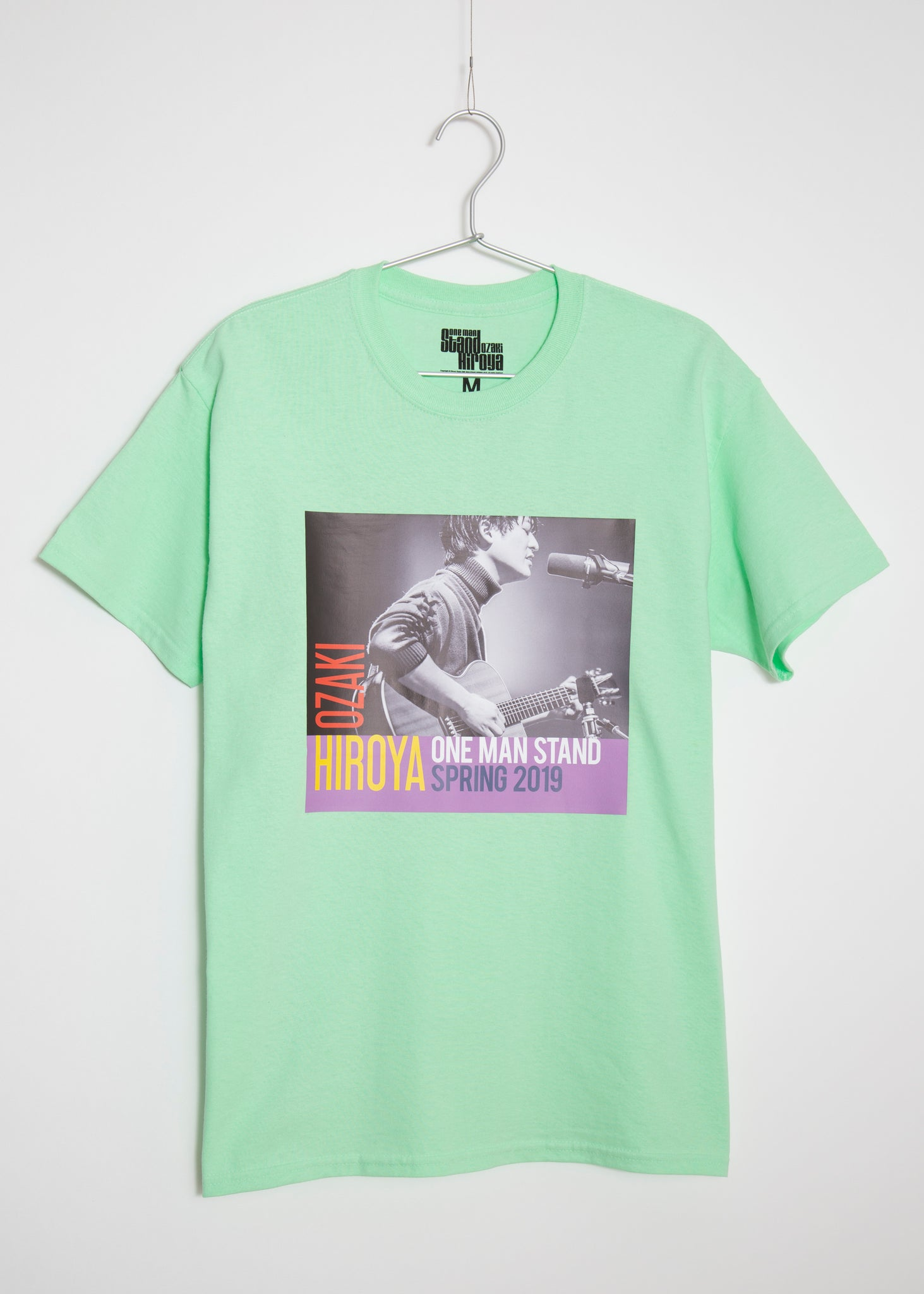 ONE MAN STAND SPRING 2019 TSHIRT(WHITE/PINK/GREEN)
