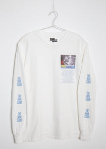 ONE MAN STAND SPRING 2019 LONG T-SHIRT(WHITE/GOLDEN YELLOW)
