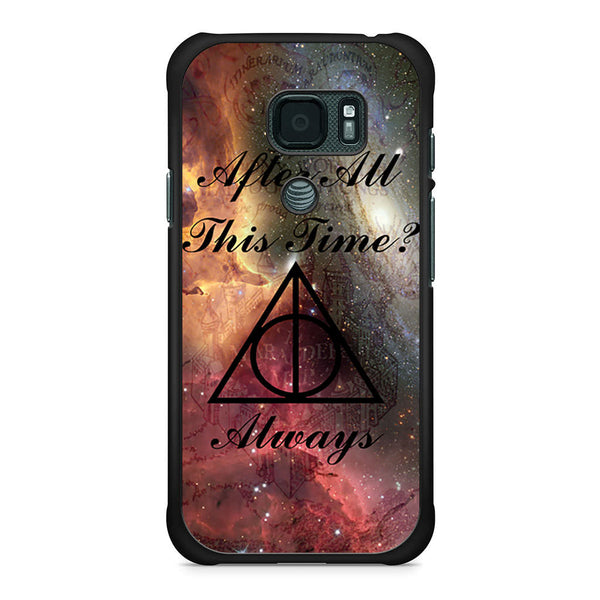 Always Harry Potter Symbol After All This Time Samsung Galaxy S7 Active case