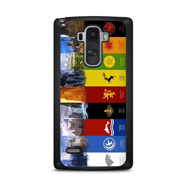 Game Of Thrones House Symbols Lg G4 Stylus Case Skicase