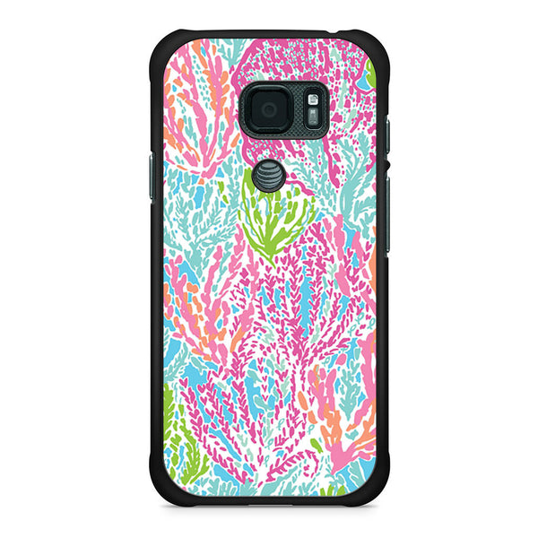 best service 44c25 1ec5c Lilly Pulitzer Lets Cha Cha Samsung Galaxy S7 Active case