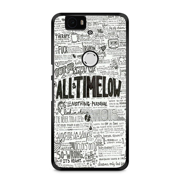 All Time Low Quotes Lyrics Nexus 6P Case – Skicase