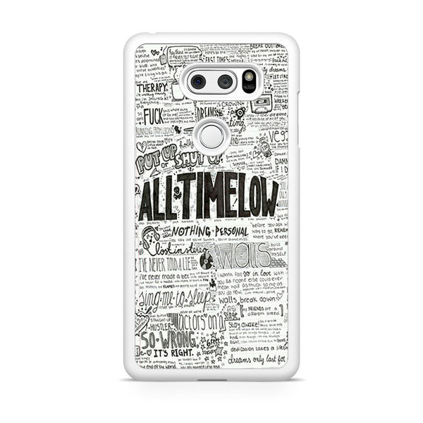 All Time Low Quotes Lyrics LG V30 Case – Skicase