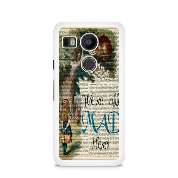 official photos 33923 f3894 Alice And Cheshire Cat Art Print Nexus 5X Case