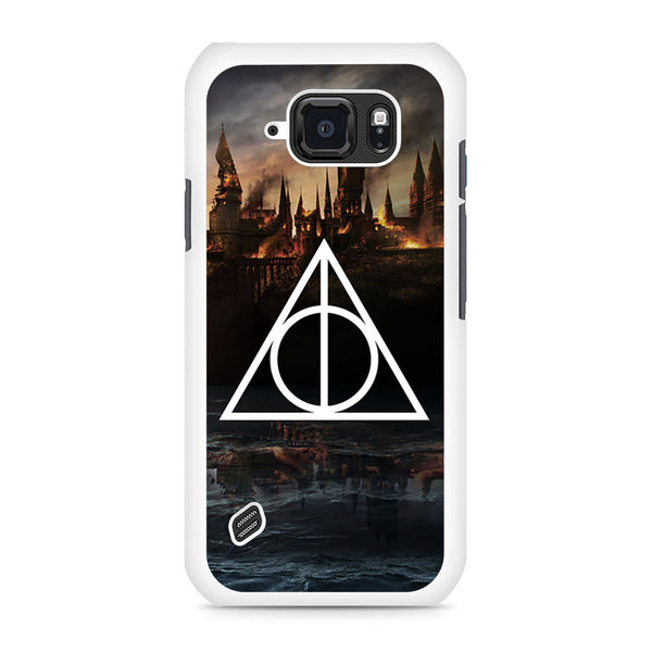 Harry Potter Deathly Hallows Triangle Symbol Samsung Galaxy S6 Active case