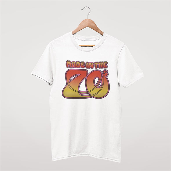 Made In The 70s - Organic - Slim Fit T-shirt - White - Mens