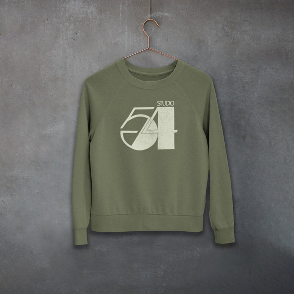 Fifty Four - Organic - Luxury Raglan Sweatshirt - Khaki - Womens