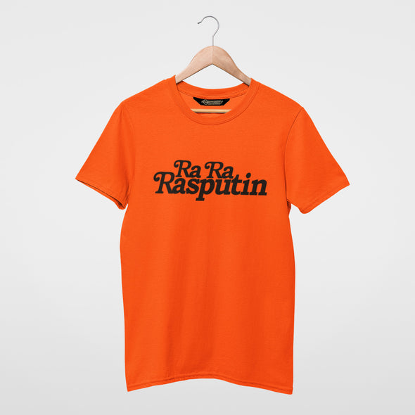 Rasputin - Organic - Classic Fit Heavy T-Shirt - Orange - Mens