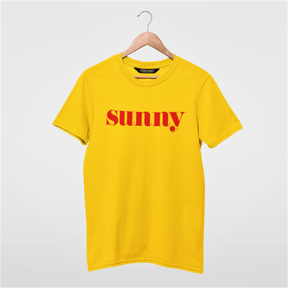 Sunny - Organic - Classic fit T-shirt - Golden Yellow - Mens