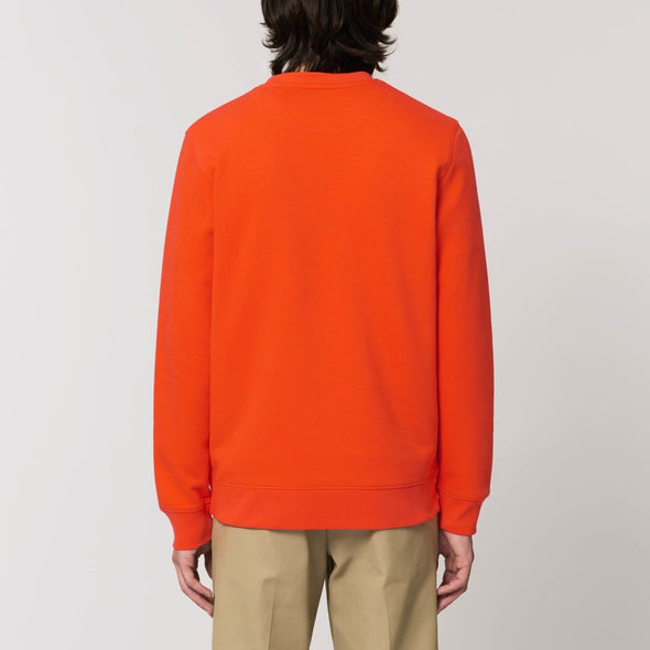 Rasputin - Organic - Luxury Sweatshirt - Orange - Mens / Unisex