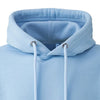 Light Blue Hoodie Collar