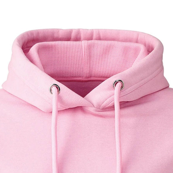 Baby Pink Hoodie Collar