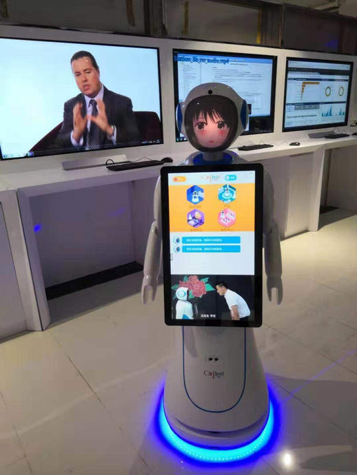 Alice Business Solution Robot with 23.8 inch screen