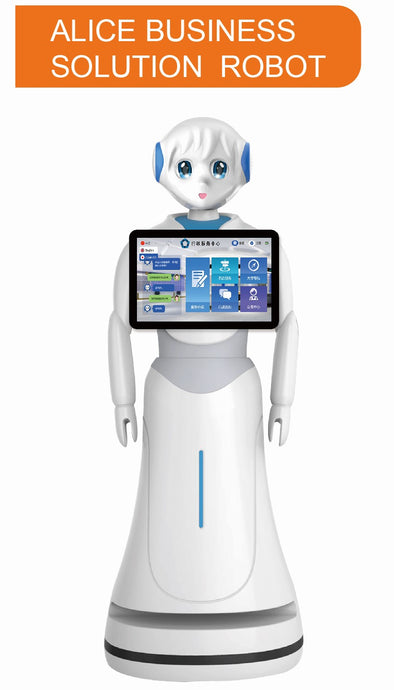 Alice Business Solution Robot with 13.3 inch screen