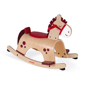 Wooden Rocking Pony
