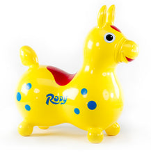 Load image into Gallery viewer, Yellow Rody Horse